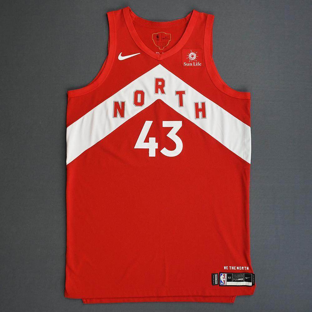 official photos cd382 a22b9 Pascal Siakam - Toronto Raptors - 2019 NBA Finals - Game 4 ...