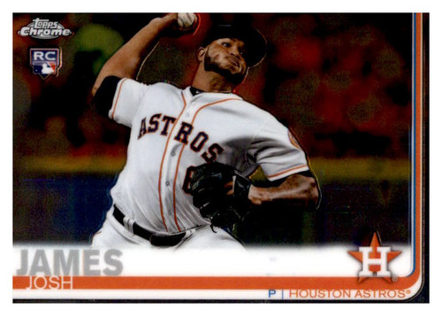 Photo of 2019 Topps Chrome #55 Josh James RC