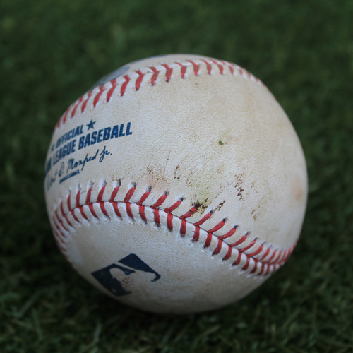 Photo of Game-Used Baseball: Aledmys Diaz 352nd Career Hit (9/15/19- HOU @ KC)