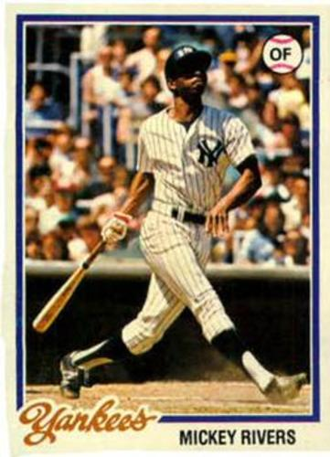 Photo of 1978 Topps #690 Mickey Rivers