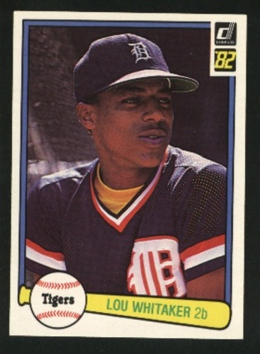 Photo of 1982 Donruss #454 Lou Whitaker