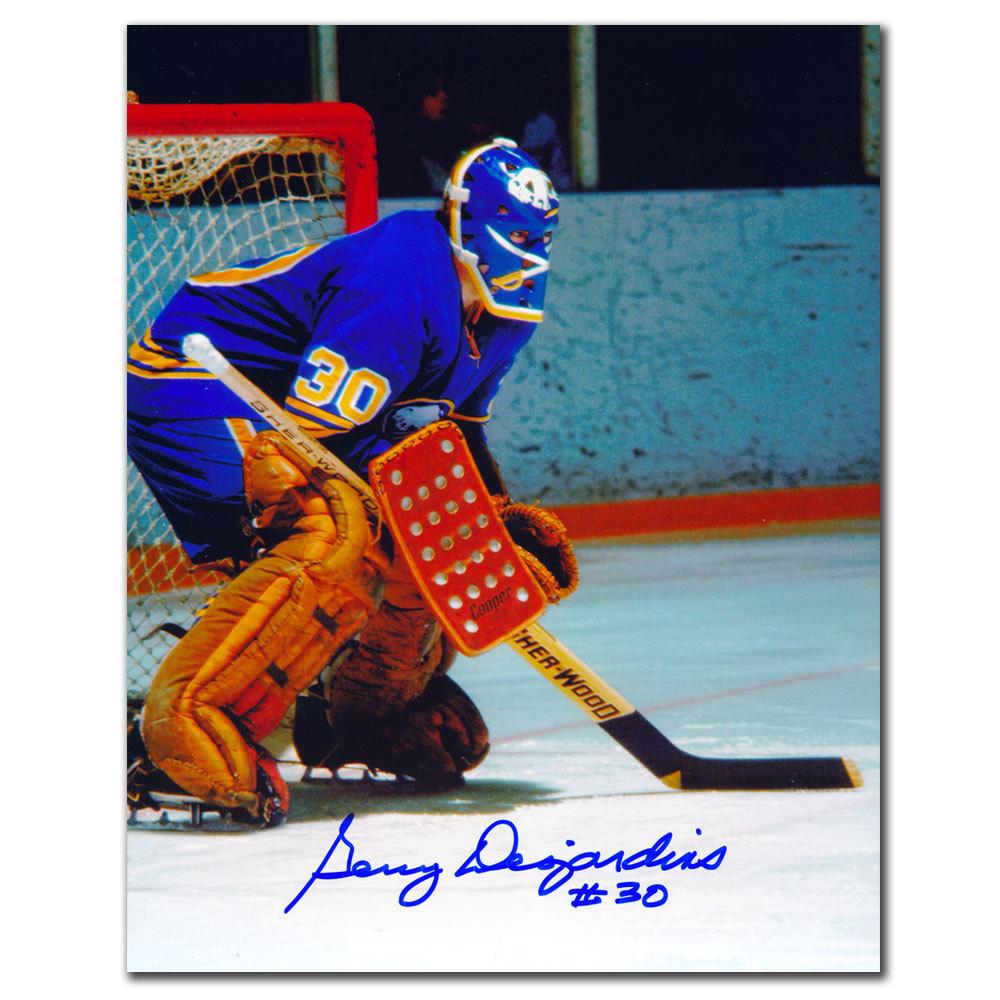 Gerry Desjardins Buffalo Sabres Autographed 8x10