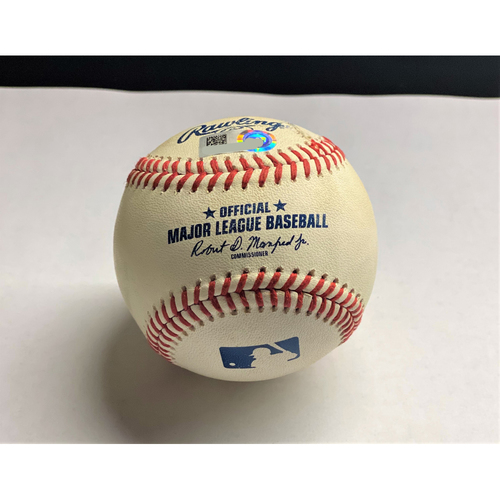 Photo of JaCoby Jones 2020 Opening Day Home Run Baseball (MLB AUTHENTICATED)