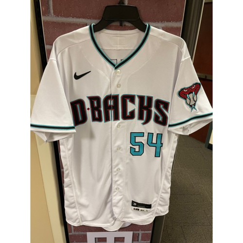 Photo of James Sherfy 2020 Team-Issued Home Alternate Jersey (Size 44)