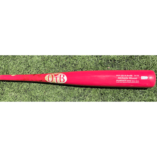 Pete Alonso #20 - Game Used Bat - Pink DTB Model - Michelle Alonso on Barrel - Mets vs Diamondbacks - 5/9/21
