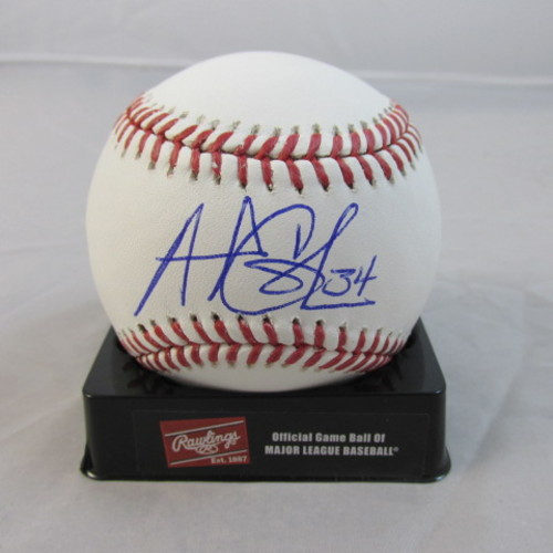 Photo of Andrew Cashner Autographed Baseball