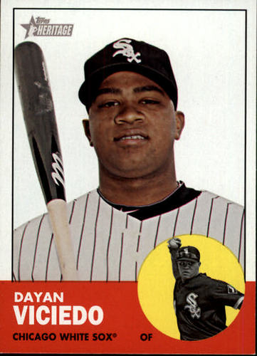 Photo of 2012 Topps Heritage #86 Dayan Viciedo