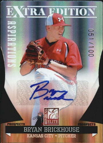 Photo of 2011 Donruss Elite Extra Edition Prospects Signature Aspirations #59 Bryan Brickhouse