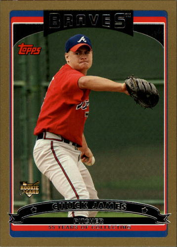 Photo of 2006 Topps Gold #305 Chuck James