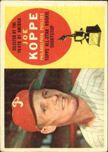 Photo of 1960 Topps #319 Joe Koppe ASR
