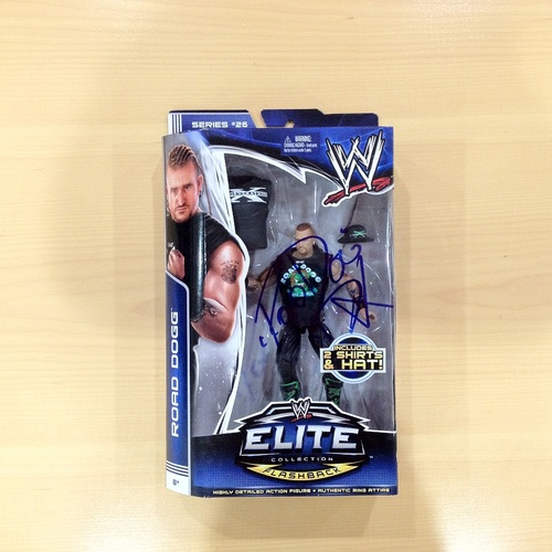 SIGNED Road Dogg Elite Series 26 Action Figure