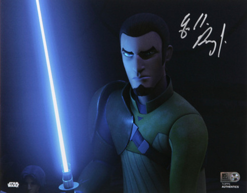 Freddie Prinze Jr. as Kanan Jarrus 8x10 Autographed In Silver Ink Photo