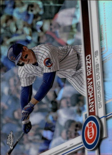 Photo of 2017 Topps Chrome Refractors #173 Anthony Rizzo