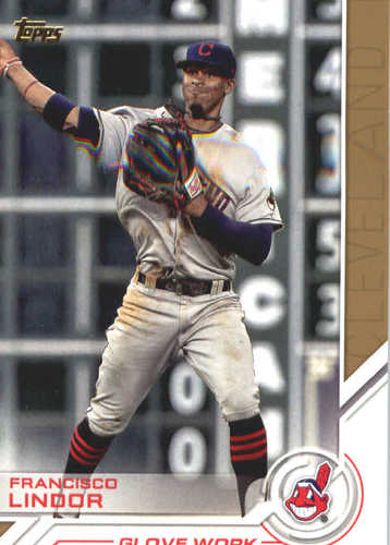 Photo of 2017 Topps Update Salute #USS4 Francisco Lindor