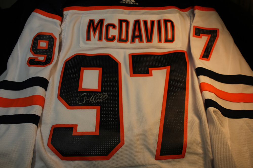 #97 Connor McDavid Autographed Jersey