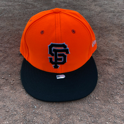 Photo of San Francisco Giants - 2017 Game-Used Player's Weekend Cap Worn on 8/27 by #5 Nick Hundley - Size 7 3/8