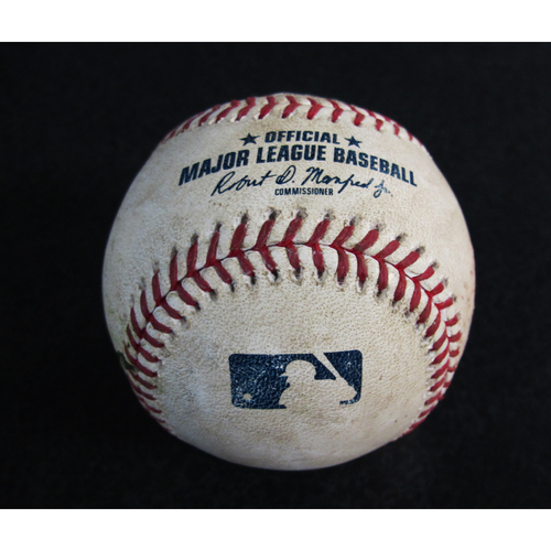 Game-Used Baseball From the Albert Pujols 3000 Hit Game - Pitcher: Mike Leake, Batter: Shohei Ohtani - Strikeout - 5/4/18