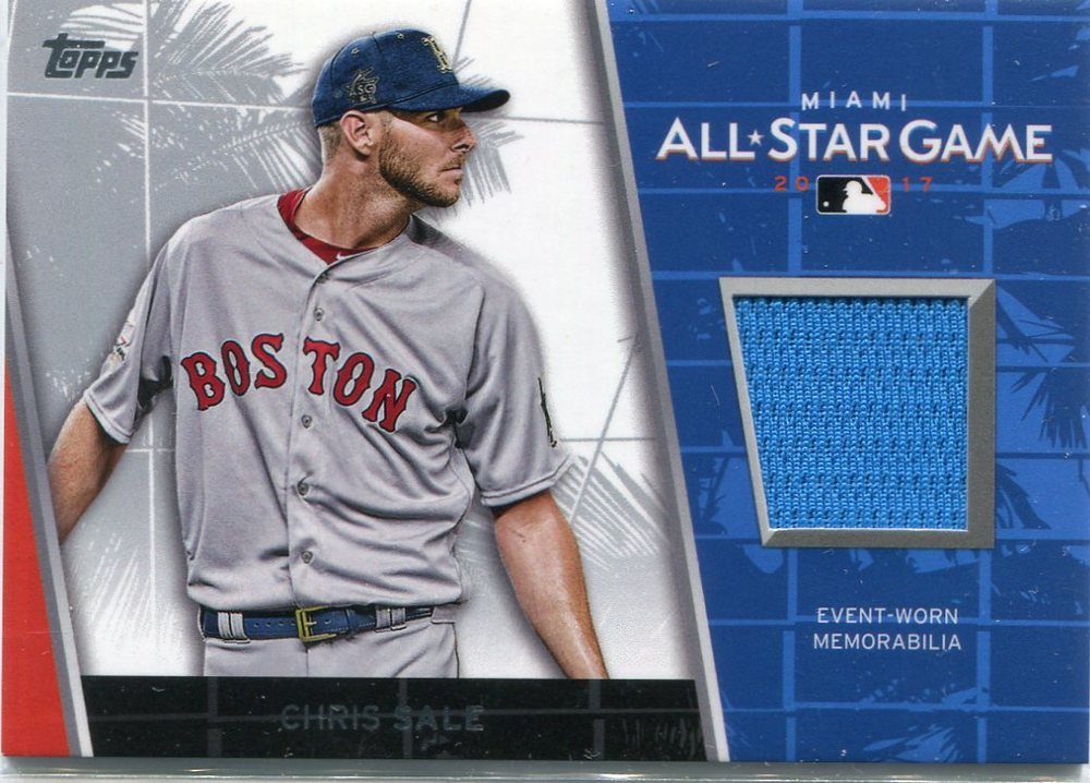 2017 Topps Update All Star Stitches #ASRCSA Chris Sale