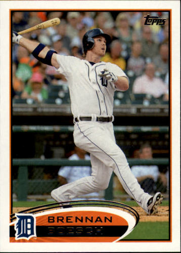 Photo of 2012 Topps #166 Brennan Boesch
