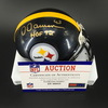 HOF - Steelers Dermontti Dawson Signed Mini Helmet