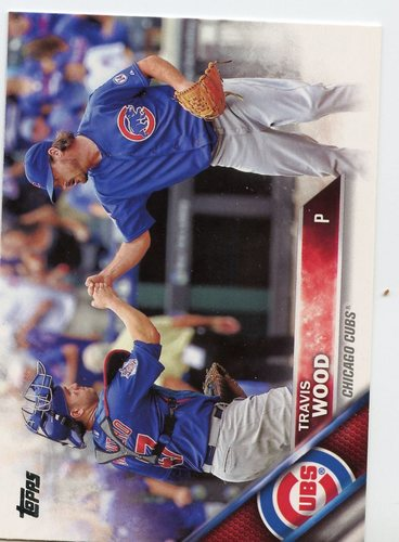 Photo of 2016 Topps #507A Travis Wood