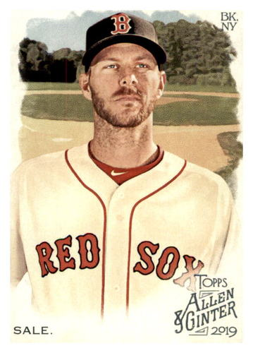 Photo of 2019 Topps Allen and Ginter #99 Chris Sale