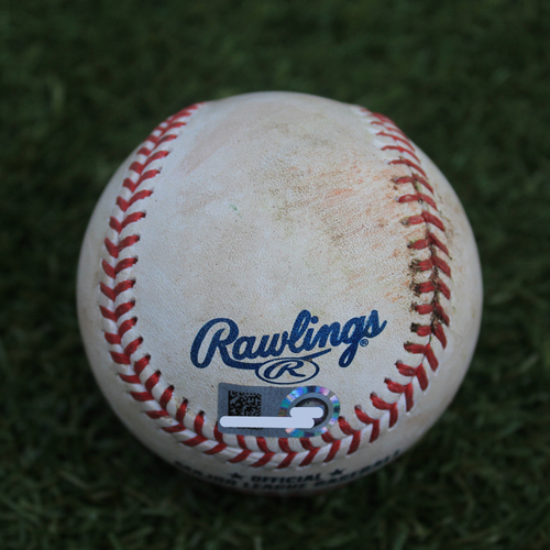 Photo of Game-Used Baseball: Alex Bregman 534th Career Hit (9/13/19 - HOU @ KC)