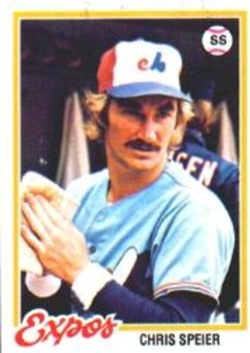 Photo of 1978 Topps #221 Chris Speier