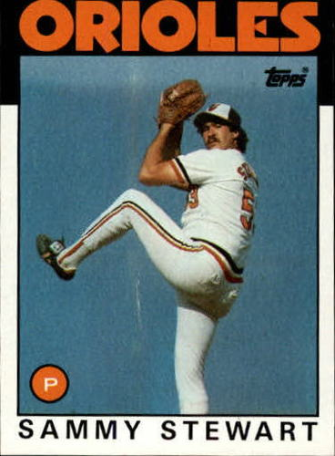 Photo of 1986 Topps #597 Sammy Stewart