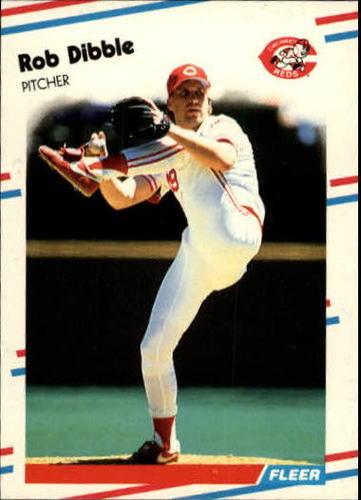 Photo of 1988 Fleer Update #83 Rob Dibble XRC