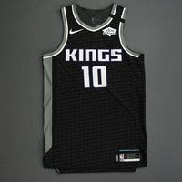 Justin James - Sacramento Kings - Game-Issued Statement Edition Jersey - 2019-20 NBA Season Restart with Social Justice Message