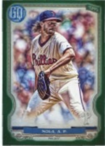 Photo of 2020 Topps Gypsy Queen Green #231 Aaron Nola