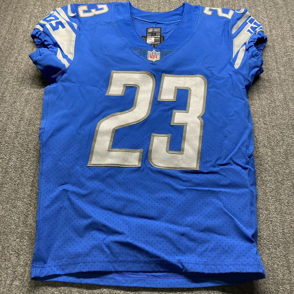 NFL Auction | Crucial Catch - Lions Desmond Trufant Game Used ...