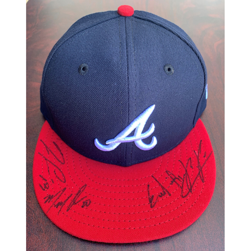 Photo of 2021 Atlanta Braves Outfielder Autographed Hat