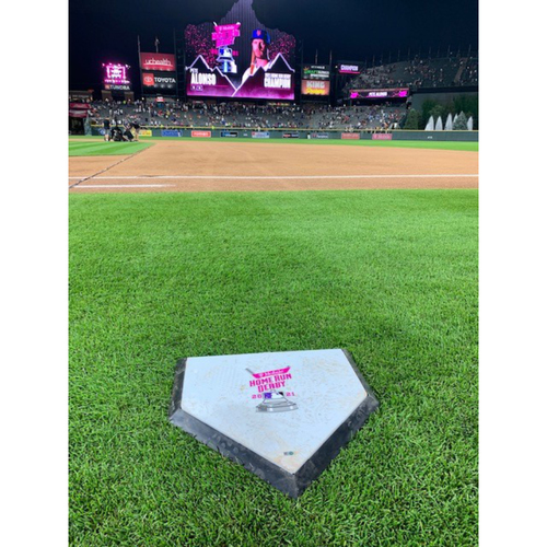 Photo of 2021 MLB Home Run Derby - Home Plate - Used Entire Derby