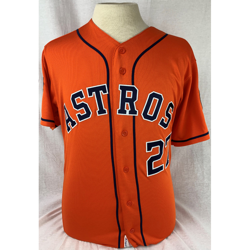 Photo of Jose Altuve 2019 World Series Team Issued Jersey - Size 42