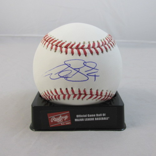 Alex Gordon Autographed Baseball