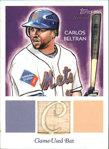 Photo of 2010 Topps National Chicle Relics #CB Carlos Beltran B