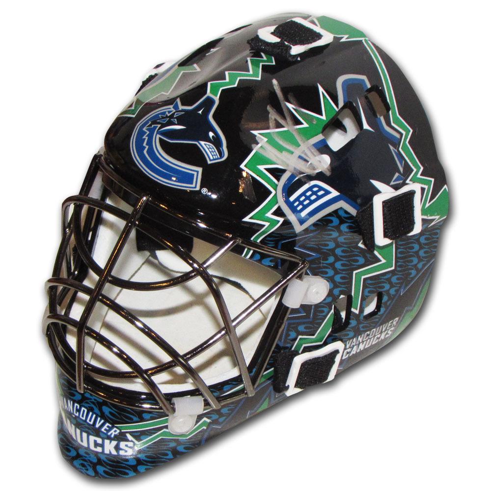 Roberto Luongo Autographed Vancouver Canucks Mini Goalie Mask Nhl
