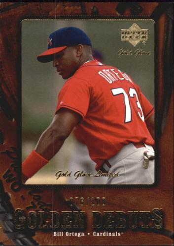 Photo of 2001 Upper Deck Gold Glove Limited #125 William Ortega GD RC /100