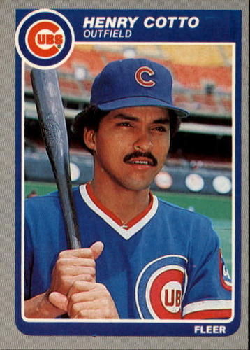 Photo of 1985 Fleer #53 Henry Cotto RC