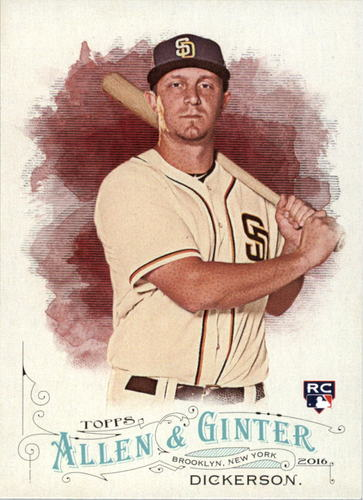 Photo of 2016 Topps Allen and Ginter #105 Alex Dickerson RC