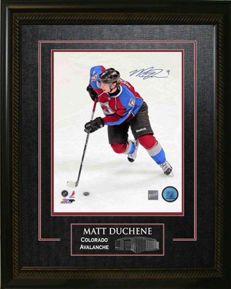Matt Duchene - Signed & Framed 16x20