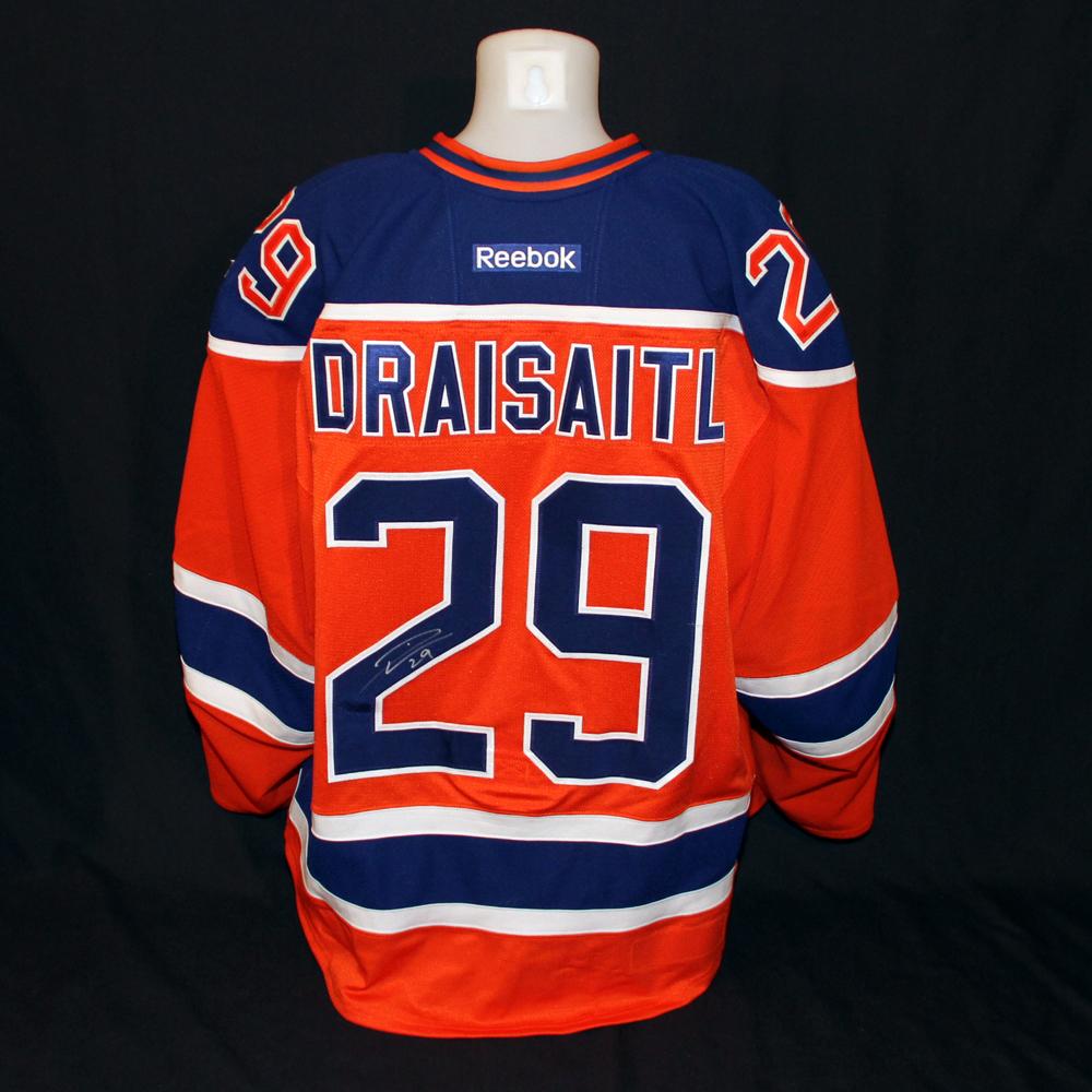 promo code 2306a 83097 Leon Draisaitl #29 - Autographed 2016-17 Edmonton Oilers vs ...