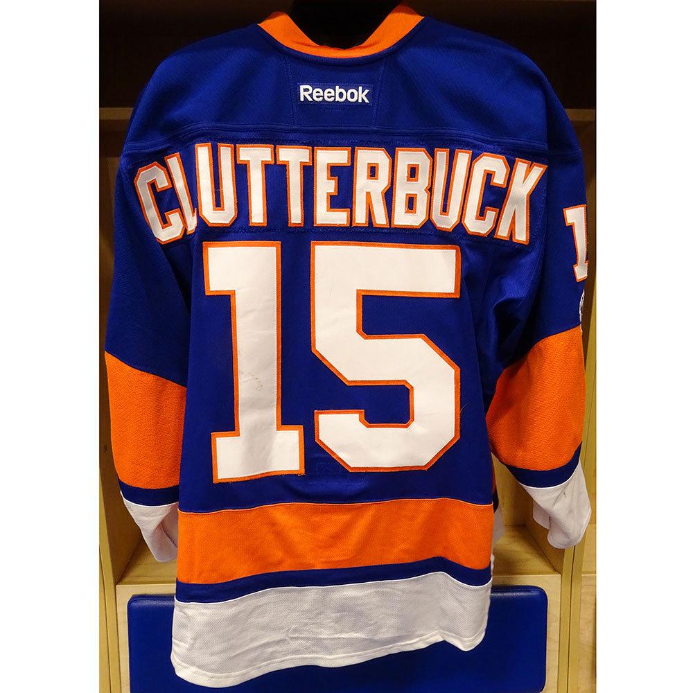 Clutterbuck Islanders Cal Clutterbuck Cal Jersey Islanders Jersey