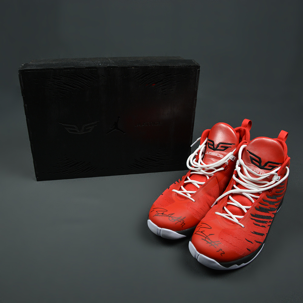 Blake Griffin - LA Clippers - Custom-Designed, Game-Worn Autographed Shoes