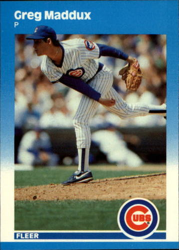 Photo of 1987 Fleer Update #68 Greg Maddux XRC