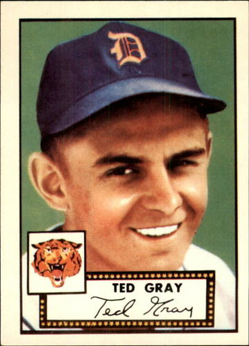 Photo of 1983 Topps 1952 Reprint #86 Ted Gray