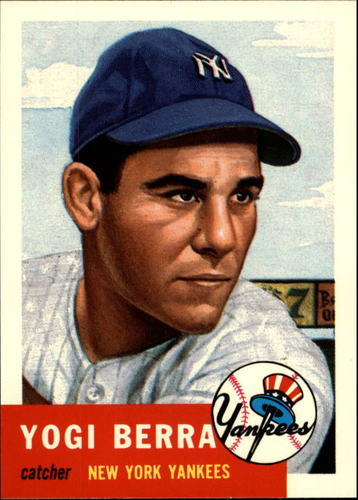 Photo of 1991 Topps Archives 1953 #104 Yogi Berra