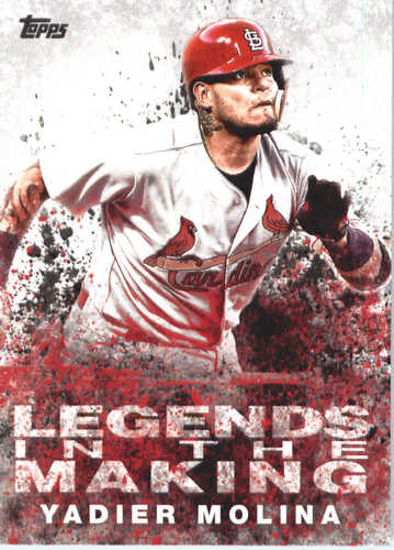 Photo of 2018 Topps Legends in the Making #LTMYM Yadier Molina